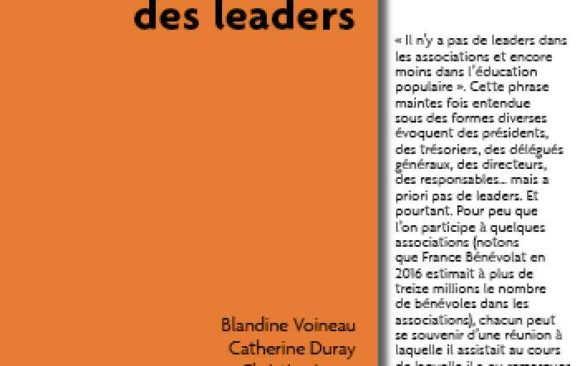 Ce que le monde associatif nous apprend des leaders